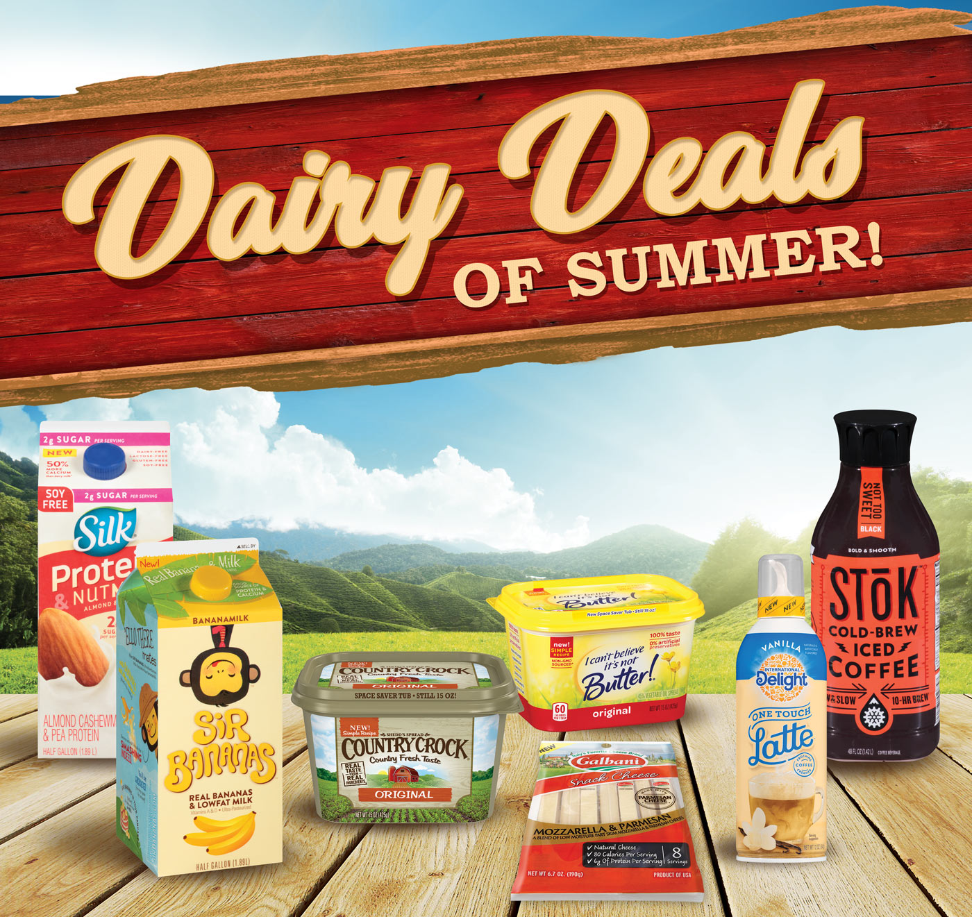 Dairy Deals Of Summer